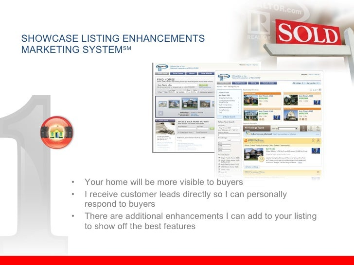 <ul><li>Your home will be more visible to buyers </li></ul><ul><li>I receive customer leads directly so I can personally r...