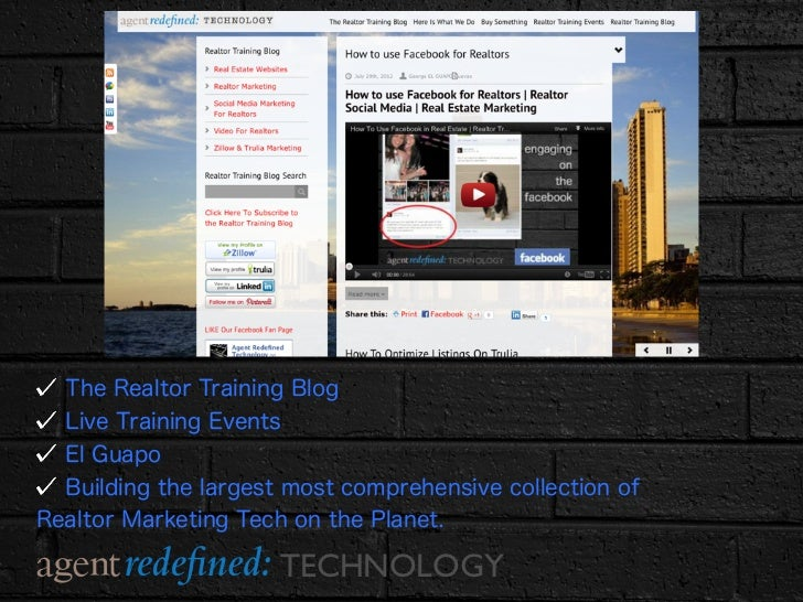 How To Use You Tube for Realtors  Slide 2