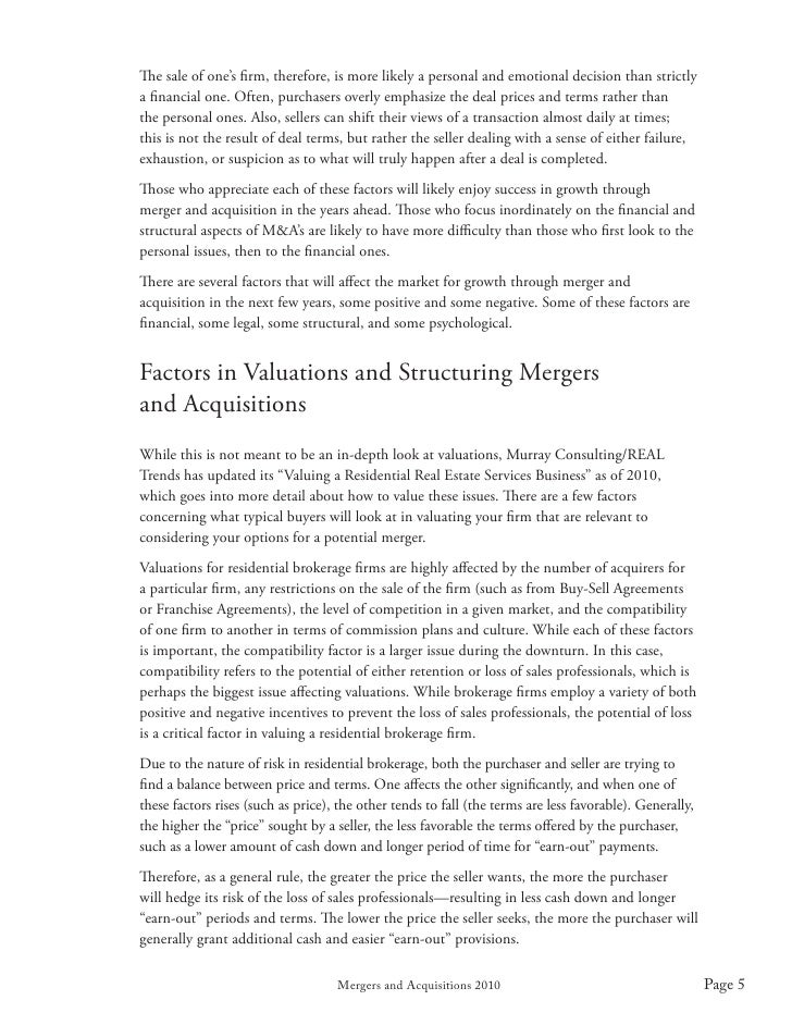 merger acquisition finance essay Corporate finance mergers and  this type of merger or acquisition is highly scrutinized by federal regulatory agencies such as the federal trade commission to.