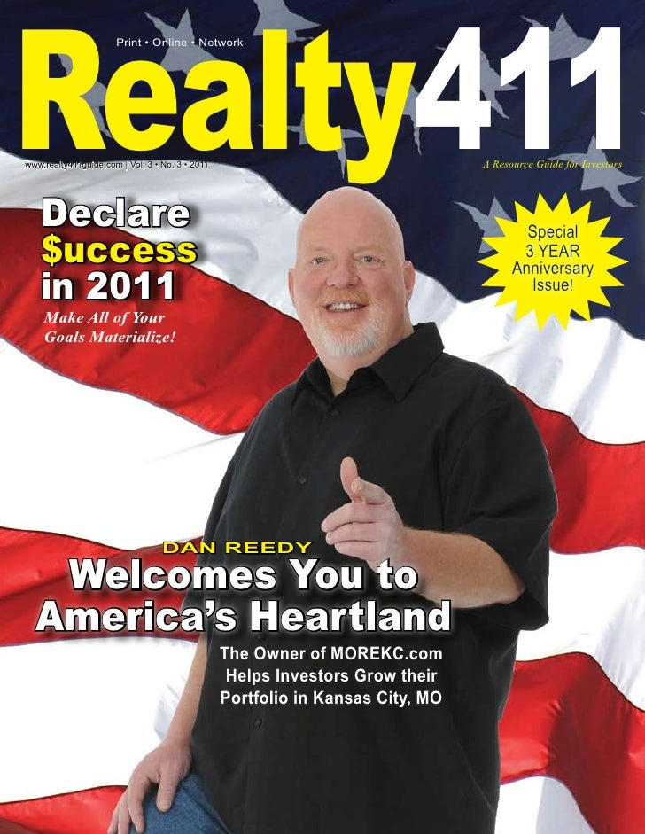 Realty411                       Print • Online • Networkwww.realty411guide.com | Vol. 3 • No. 3 • 2011                    ...