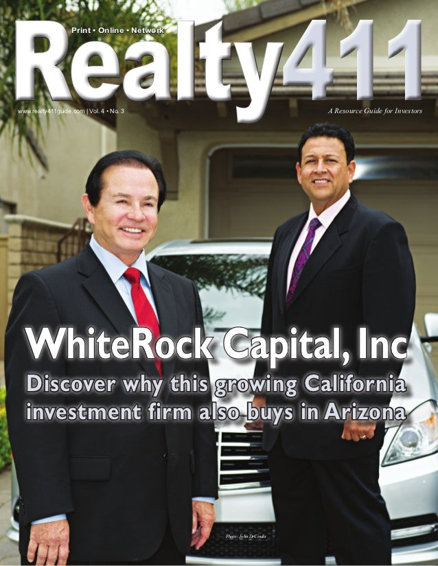 Realty411                    Print • Online • Networkwww.realty411guide.com | Vol. 4 • No. 3 	   						                   ...