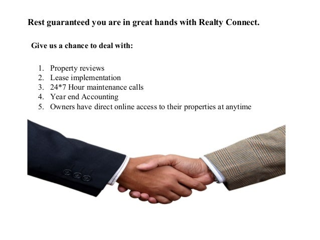 Realty Connect - Full Service Real Estate Team Slide 3