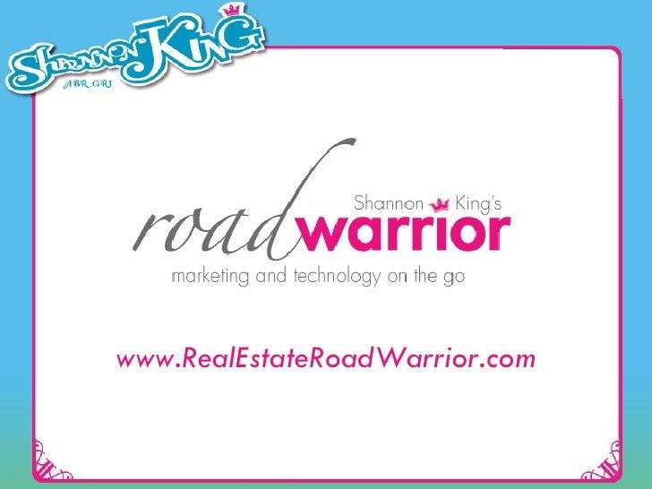 www.RealEstateRoadWarrior.com