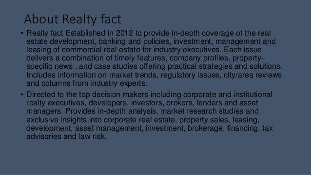 Realty fact business plan - Real estate branding Slide 3