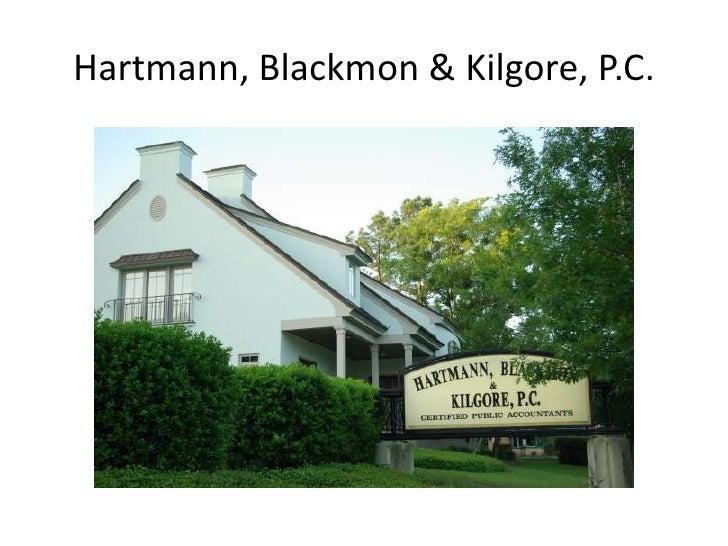 Hartmann, Blackmon & Kilgore, P.C.<br />