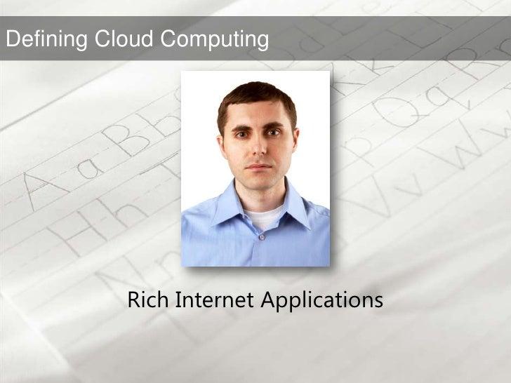 Rich Internet Applications<br />