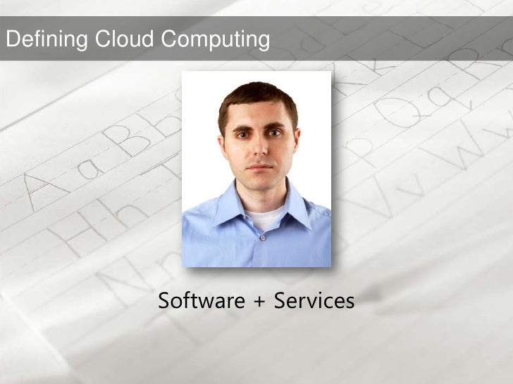 Software + Services<br />