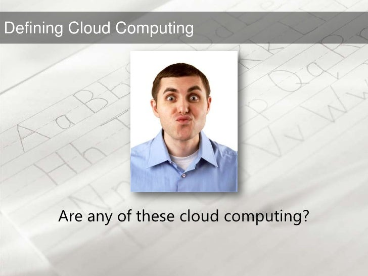 Are any of these cloud computing?<br />