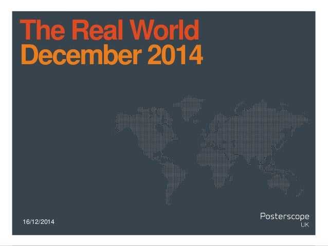 16/12/2014 The Real World December 2014