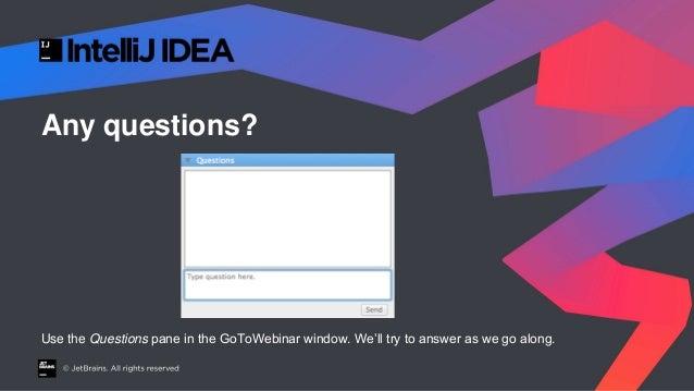 Real World Java 9 - JetBrains Webinar Slide 2