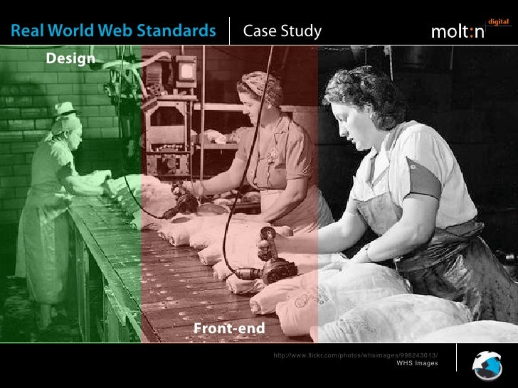 Real World Web Standards   Case Study     Design                                                       Back-end           ...