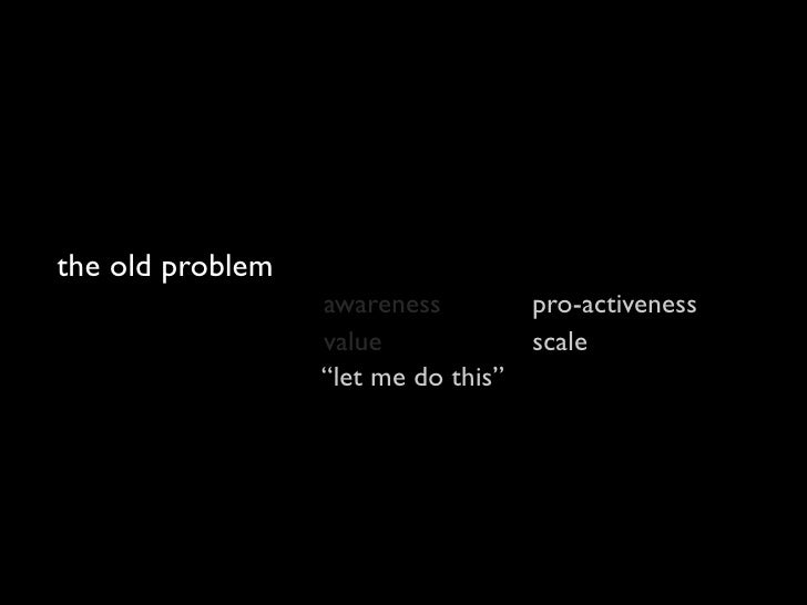 the new problem                   awareness        pro-activeness                   value            scale                ...