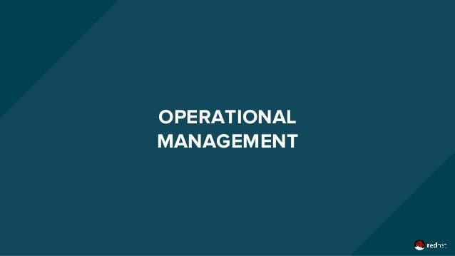 OPERATIONAL MANAGEMENT