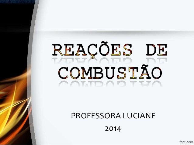 PROFESSORA LUCIANE 2014