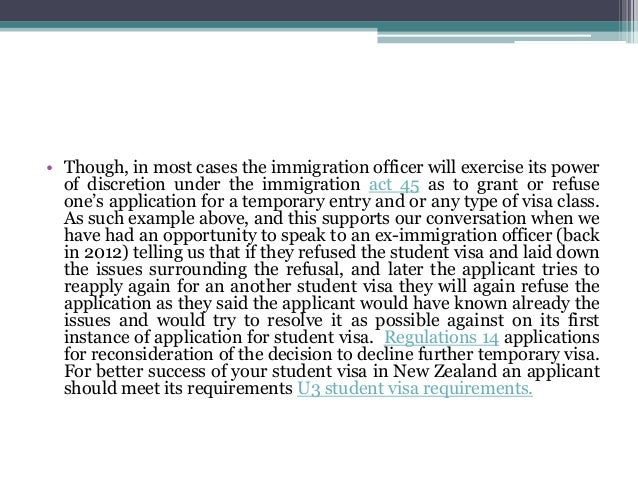 Reapplication student visa new zealand 3 spiritdancerdesigns Image collections