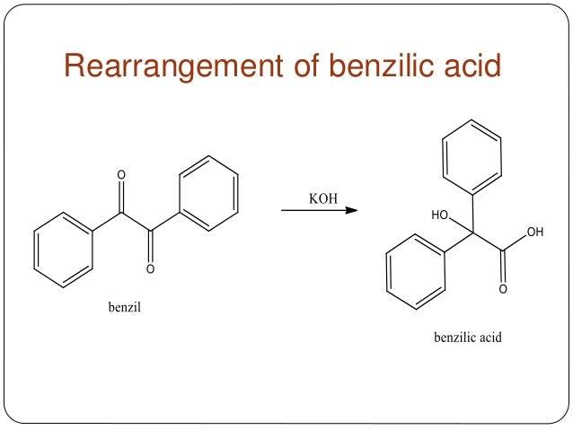 rearrangement-of-benzilic-acid ...