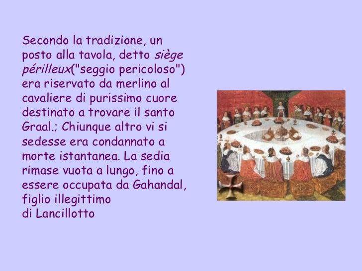 Re Art 249 E I Cavalieri Della Tavola Rotonda