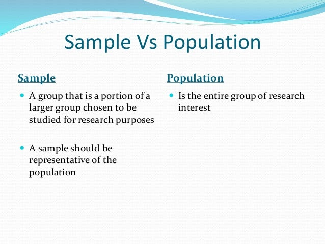 Sampling Procedures 1) Random sampling - every member of the population has an equal chance of being selected as a partici...