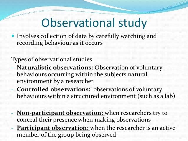 • Experiments • Correlations • Descriptive Statistics •Inferential Statistics
