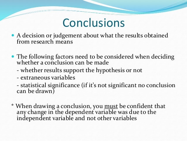 Research methods revision 2015