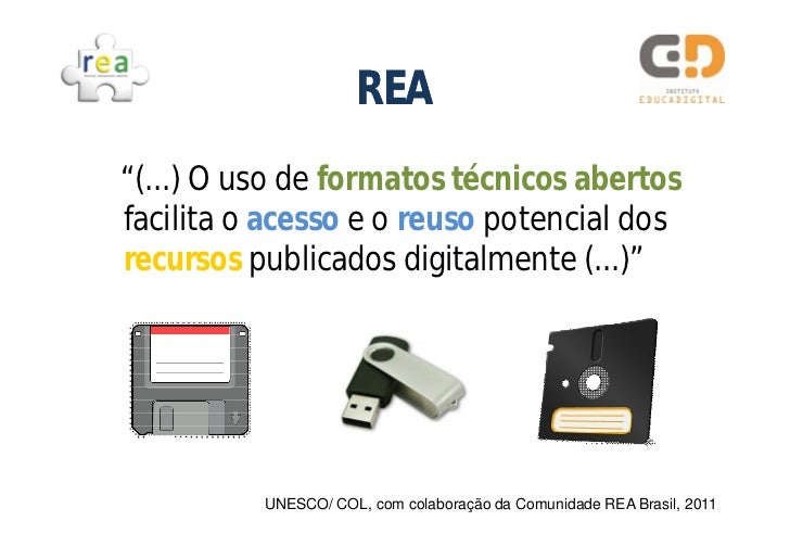 REA: Práticas Colaborativas na Web  Slide 3