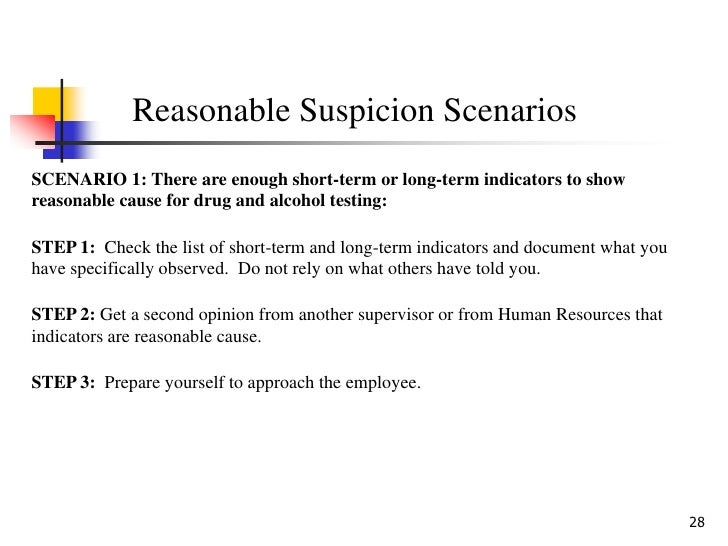 Reasonable Suspicion School Searches suspicion - Dri...