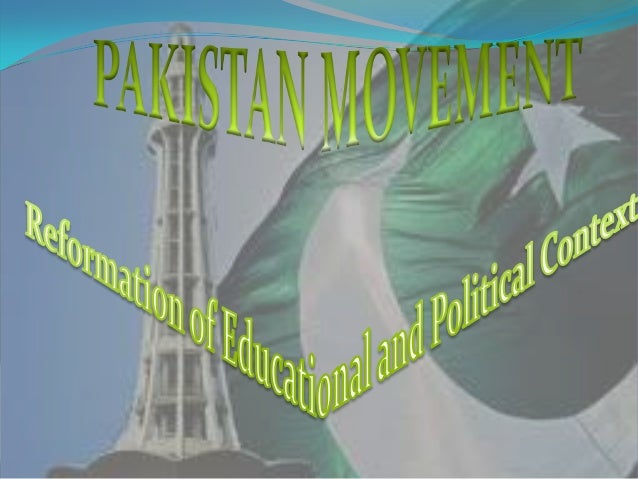  The Pakistan Movement refers to the successfulhistorical movement against British Raj andIndian Congress to have anindep...