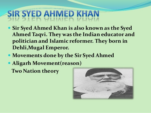 sir syed ahmed khan educational and political services Sir aga khan iii, the 48th imam of ismaili muslims, whose birth anniversary is being commemorated today (friday), was a staunch advocate of education, particularly for women.