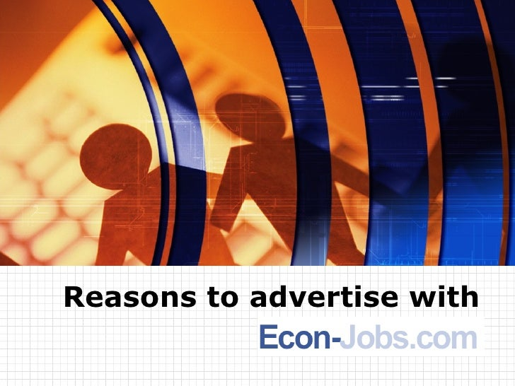 Reasons to advertise with