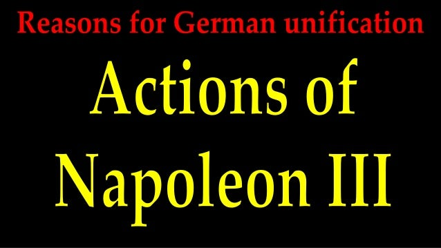reasons for german unification
