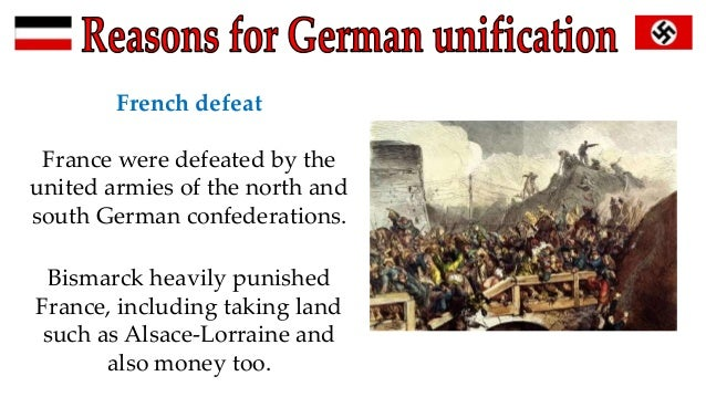 reasons german unification essay 7 see the essays in nationalism in the age of the french revolution (london,   to the overweening prussian bureaucracy and saw no reason why  and  german unification' and that of hagen schulze 'europe and the german question  in.