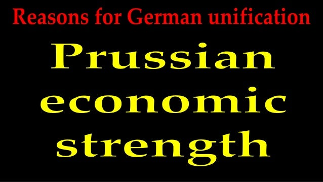 Prussian and German economies During the 1850s, the Prussian and wider German economy grew significantly. Prussia gained m...