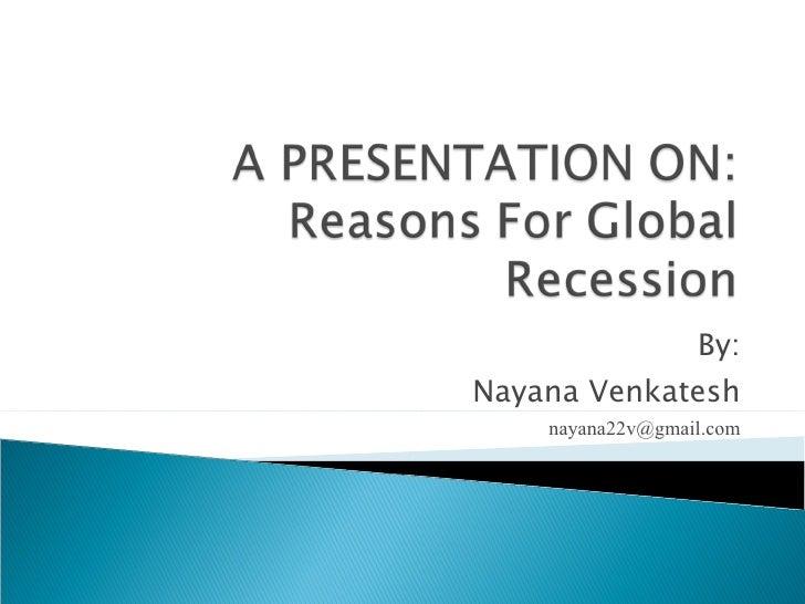 By: Nayana Venkatesh [email_address]