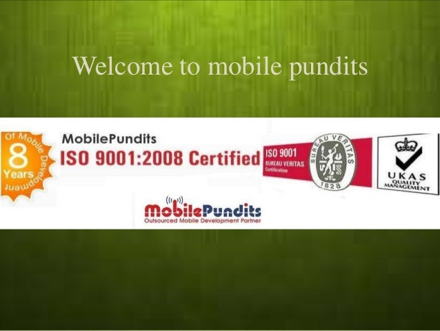 Welcome to mobile pundits