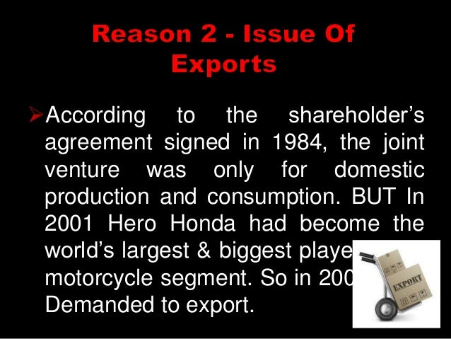 hero honda case study Title of the case: hero ultra: joining hands for ultra success name of the author: 1 2 dr m v sidhpuria dr.