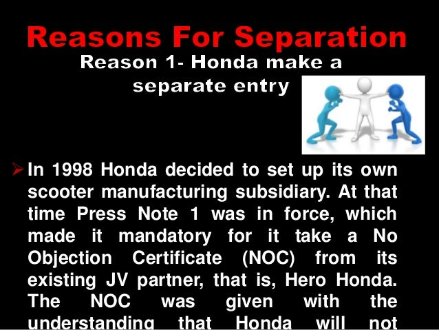 hero honda case study