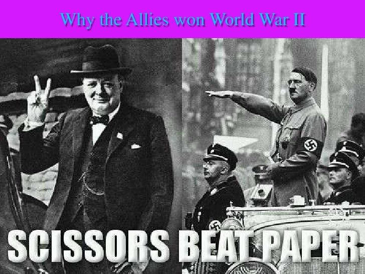 Reasons for the_allied_victory