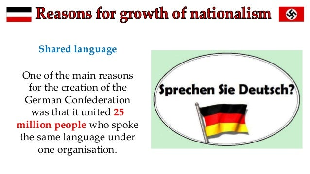 growth of german nationalism essay Between 2010 and 2016, the number of muslims living in germany rose from 33 million (41% of the population) to nearly 5 million (61%), while the rest of.