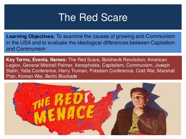 an essay on mccarthy and the red scares in america The red scare essay - the first and second red scare of the united states paved the way for a long standing fear of communism and proved to be one of america's largest periods of mass hysteria.