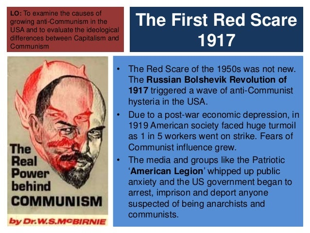 red scare and mccarthyism essay Essay on crucible: salem witch trials and red scare the red scare which is also known as the mccarthyism the red scare had less harsh consequences, but the same rippling events throughout time.