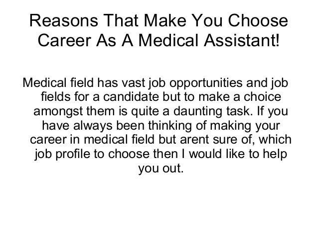 Why Choose a Career in the Medical Field
