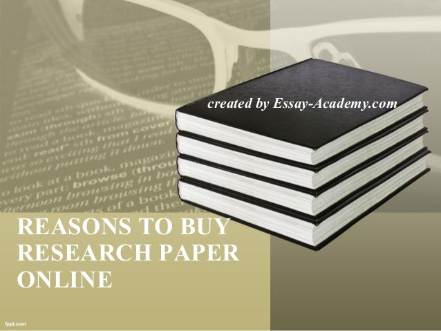 Where can i buy a research paper online