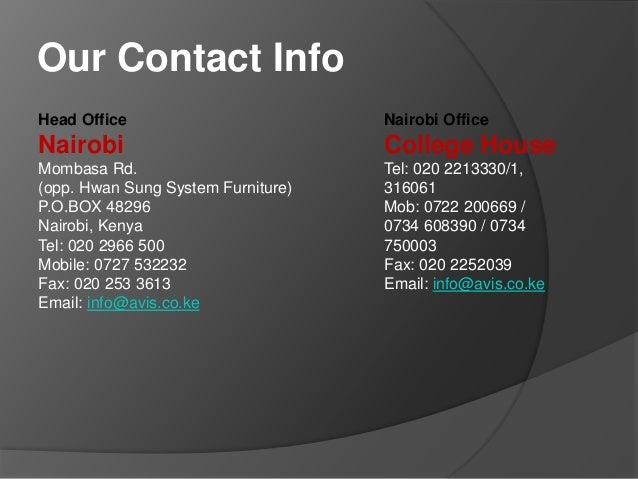 reasons to choose avis car rental service in nairobi. Black Bedroom Furniture Sets. Home Design Ideas