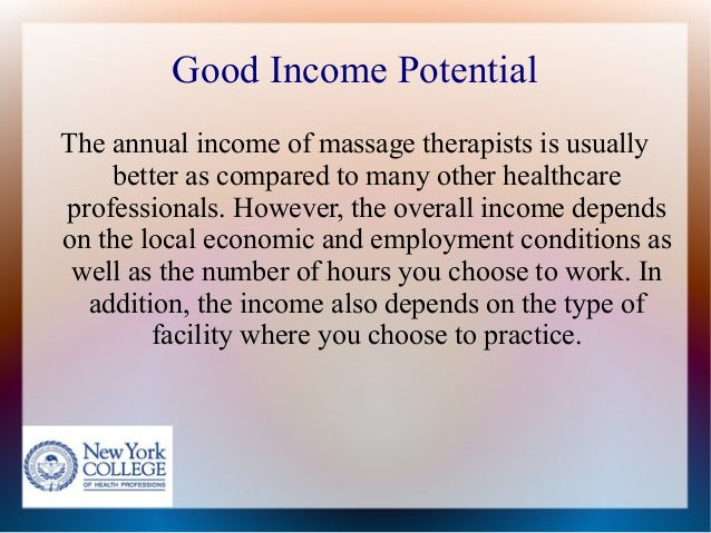Reasons To Choose Massage Therapy As A Career Option