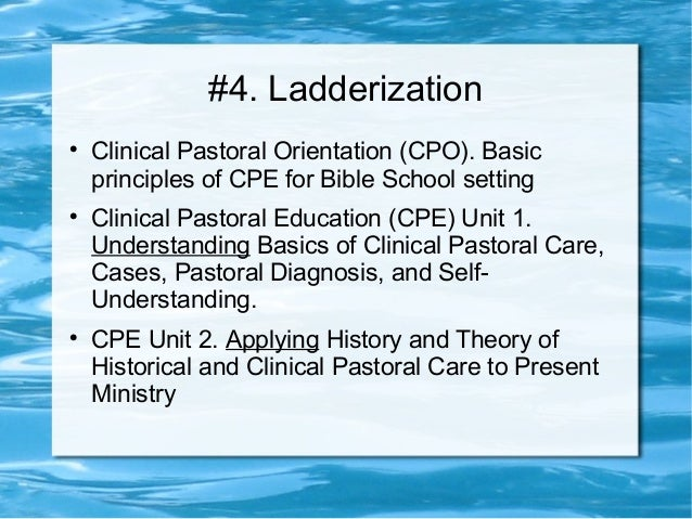 educator in a pastoral role Christian educators must never forget that we are first pastors and then educators and that education serves the pastoral function of nurturing faith within the community of the church theologically rich christian education contributes to the church's ministry of discipleship.