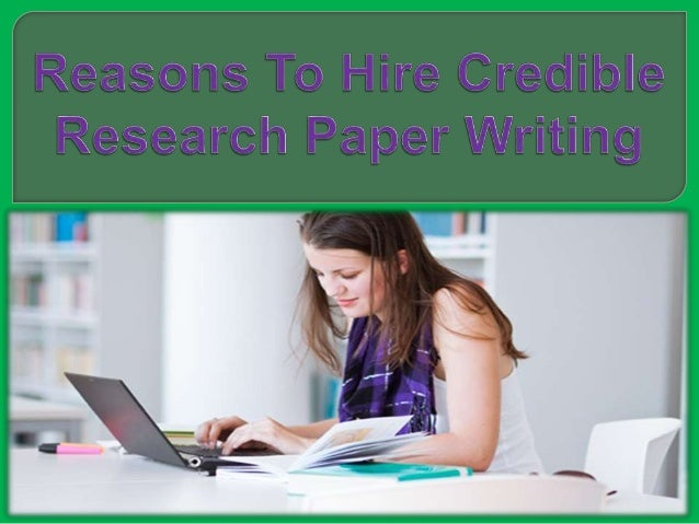 Hire a research paper writer