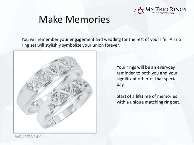 Reasons To Pick A Matching Wedding Ring Set