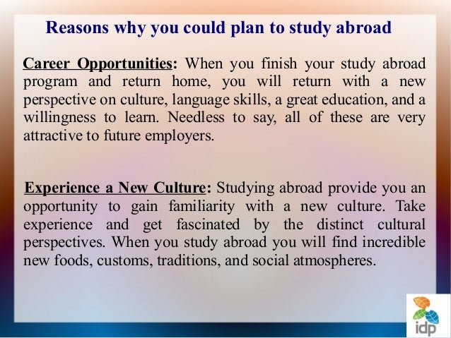 Reason to study in japan essay