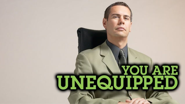 You are Unequipped