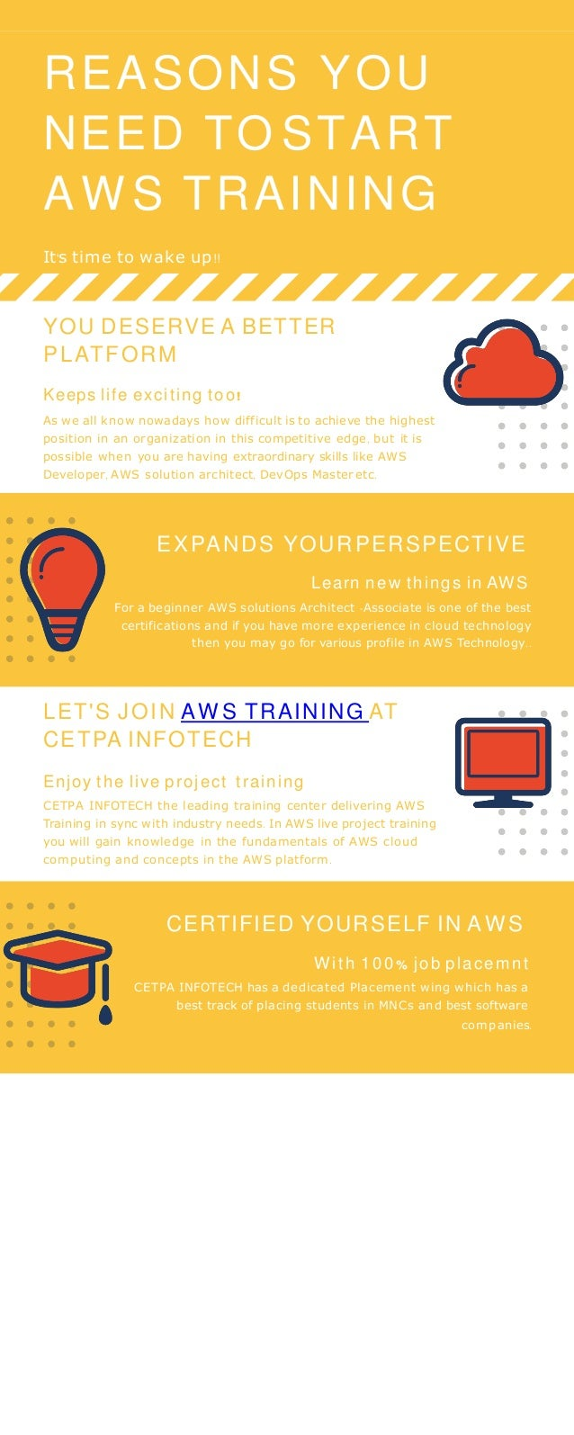 Reasons You Need to Start AWS Training